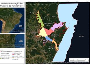Ecossistema Babitonga é delimitado em sete Unidades de Planejamento
