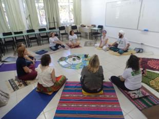 A educação e a saúde integral do ser foi o tema do nono ciclo de oficinas da Formação Continuada em