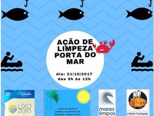 Voluntários farão mutirão de limpeza do mangue no Parque Porta do Mar, em Joinville
