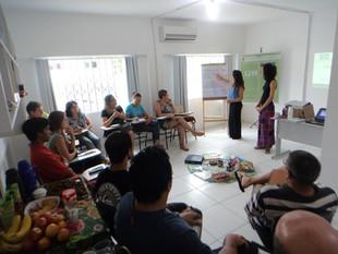 Introdução a Ecocidadania e Estratégias Didáticas Inovadoras foram os temas do primeiro ciclo de ofi
