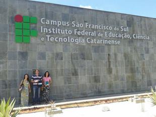 Projeto Babitonga Ativa busca parceria com Instituto Federal Catarinense (IFC) em São Francisco do S