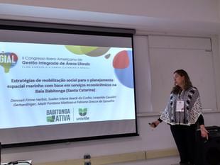 Projeto Babitonga Ativa participa do II Congresso Iberoamericano de Gestão Integrada de Áreas Litora