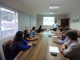 AMUNESC e Conselhos Municipais de Meio Ambiente do entorno da Baía Babitonga conhecem o Projeto Babi