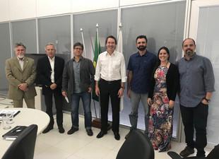Comitiva do GPB é recebida pela direção do ICMBio em Brasília