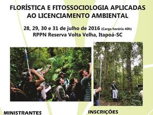 Reserva Volta Velha promove curso de botânica para licenciamentos ambientais