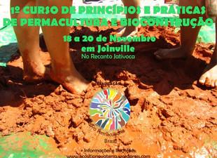 Inscrições abertas para curso sobre permacultura e bioconstrução em Joinville