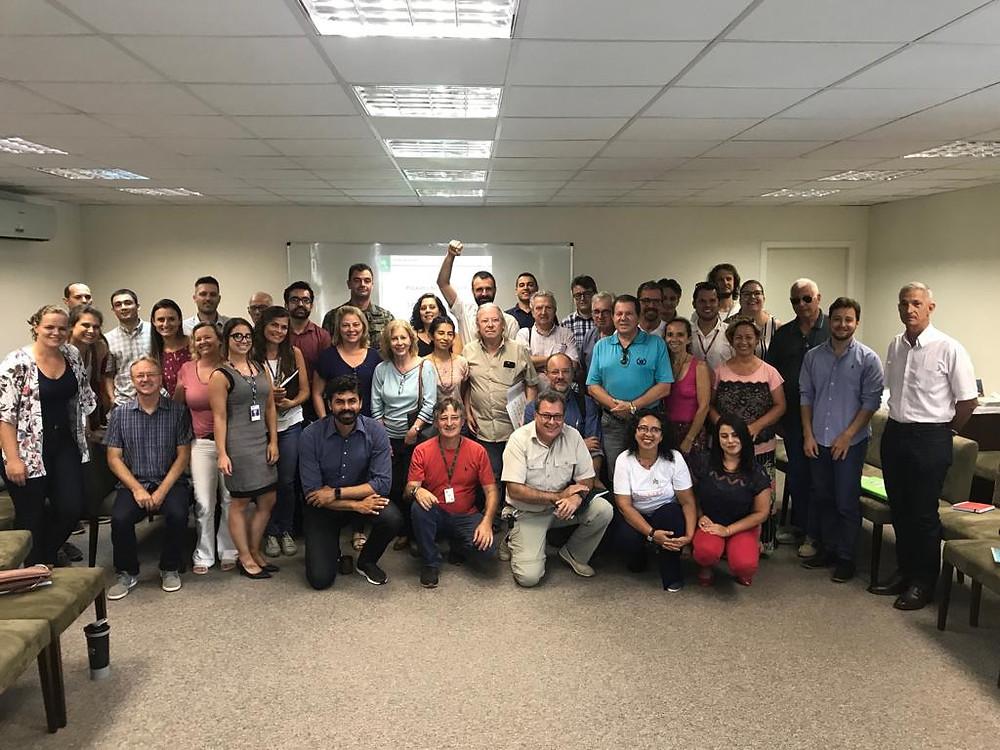 Grupo Pró-Babitonga em sua 20ª reunião plenária