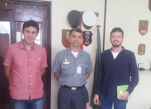 Projeto Babitonga Ativa se reúne com a Capitania dos Portos em São Francisco do Sul
