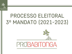 Edital para o Processo Eleitoral do 3º Mandato do Grupo Pró-Babitonga (2021 – 2023)