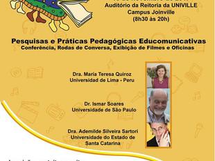VII Colóquio Catarinense de Educomunicação, VI Colóquio Ibero-Americano de Educomunicação e o 1º Enc