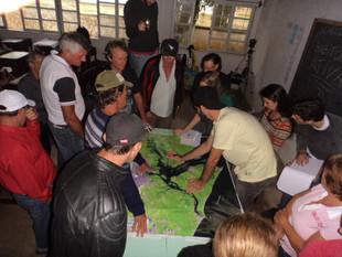 Pescadores de Garuva se mobilizam para o planejamento espacial da região do Rio Palmital