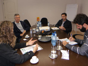 Projeto Babitonga Ativa se reúne com representantes do Terminal de Granéis de Santa Catarina (TGSC),