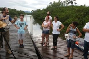 Oficinas de captação audiovisual do 1º Ciclo de Educomunicação mobilizam comunidade do entorno da Ba