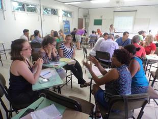 Oficina de roteiro audiovisual teve participação da comunidade da Baía Babitonga