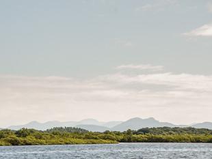 Ecocidadãos participantes da Formação Continuada em Ecocidadania saem a campo navegando na Baía Babi