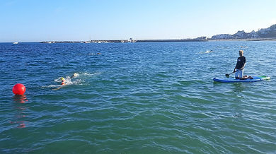 Open Water Swimming in Lyme Regis