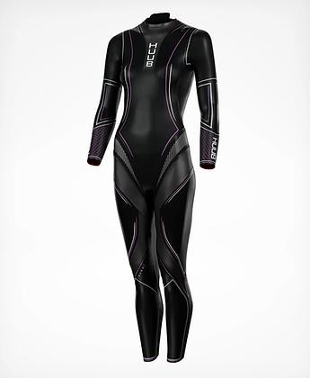 HUUB Aura 2 womans open water swimming / triathlon wetsuit-angle