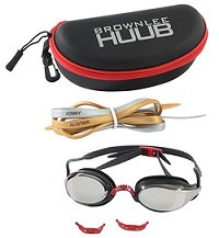 HUUB Brownlee Swimming Goggles Black/Red