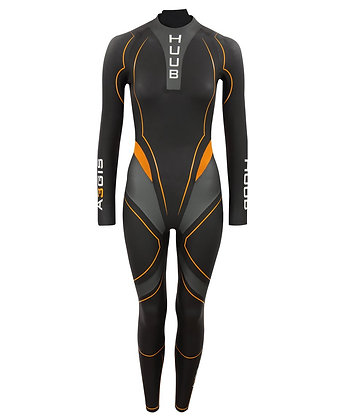 HUUB Aegis III Womans Thermal Triathlon Wetsuit - Front