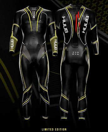 Varman Fluo mens triathlon-open water swimming wetsuit
