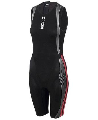 HUUB Albacore Womans Triathlon Swimskin - front
