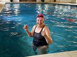 1-2-1 swimming lesson at Highlands End, Eype, Dorset