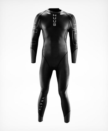 HUUB Alpha Mens Open Water Swimming Wetsuit - Front