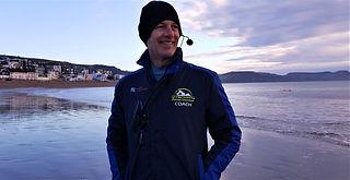 Malcolm Greenslade, Swiimg Coach, Lyme Regis, Dorset