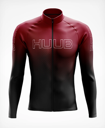 HUUB Core 2 Mens Long Sleeve Thermal Cycle Jersey Front