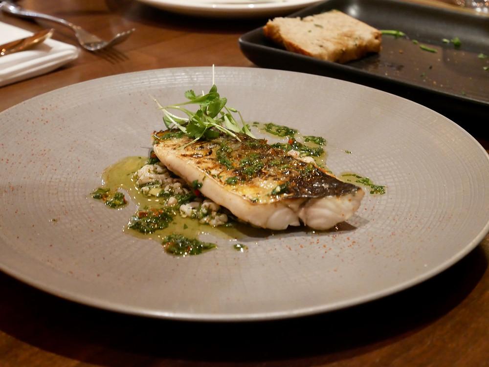 Flame roasted Chesil beach mackerel
