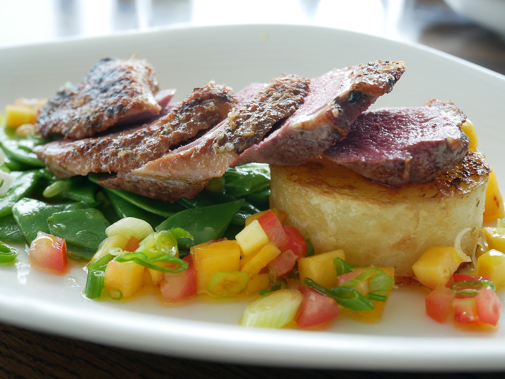 Pan fried duck breast - Neo