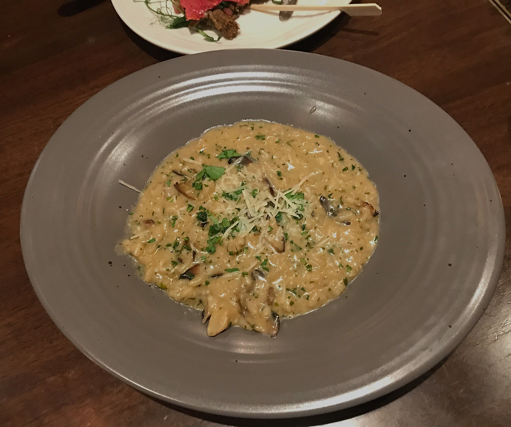 New Forest Wild Mushroom Risotto