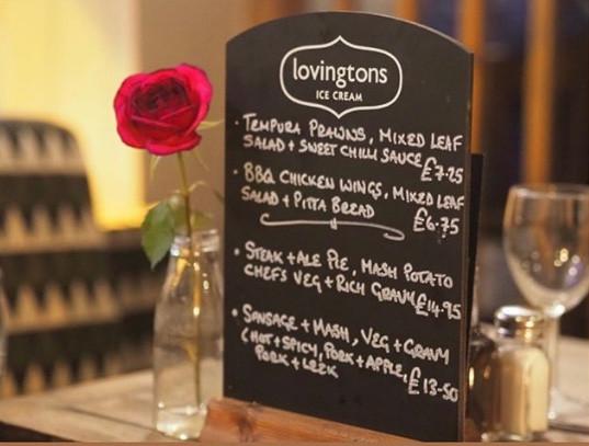 Greyhound special menu