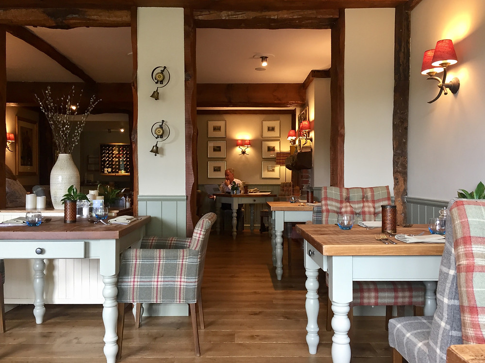 The Bell - Oak dining room
