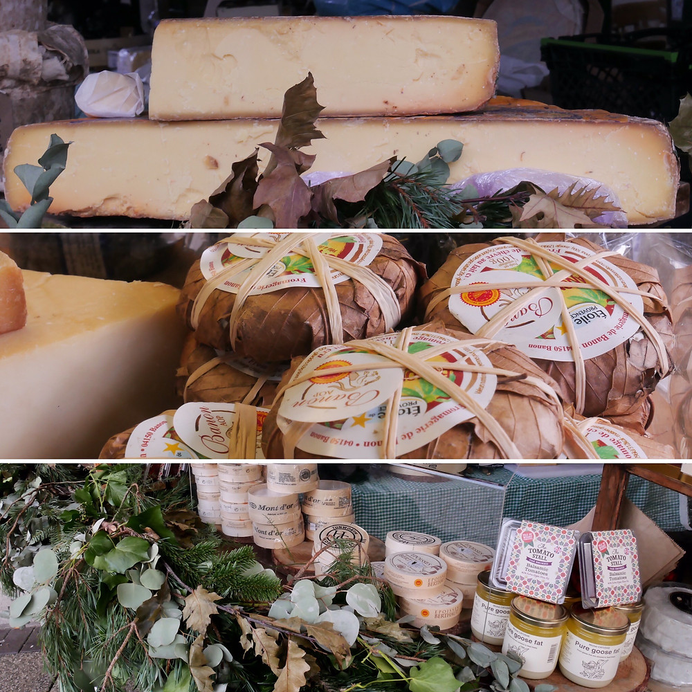 The Larder House - Cheese stall