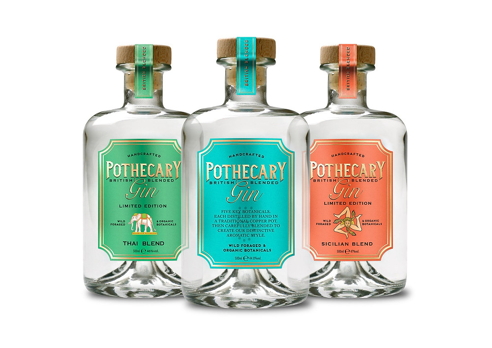 Original, Thai and Sicilian - Pothecary Gins