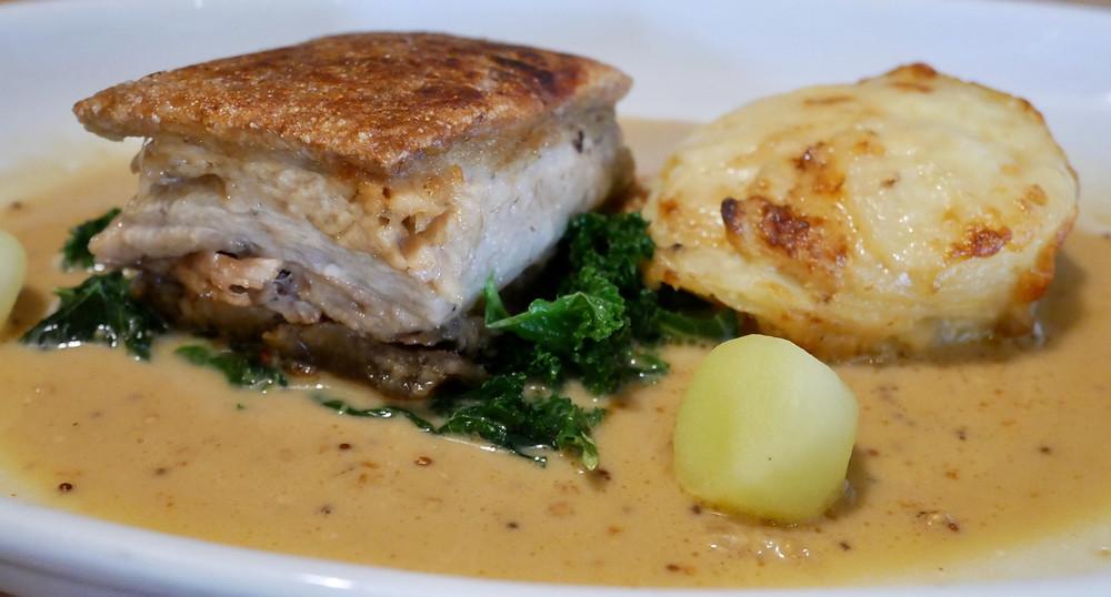 Slow roasted Avon Tyrell Pork