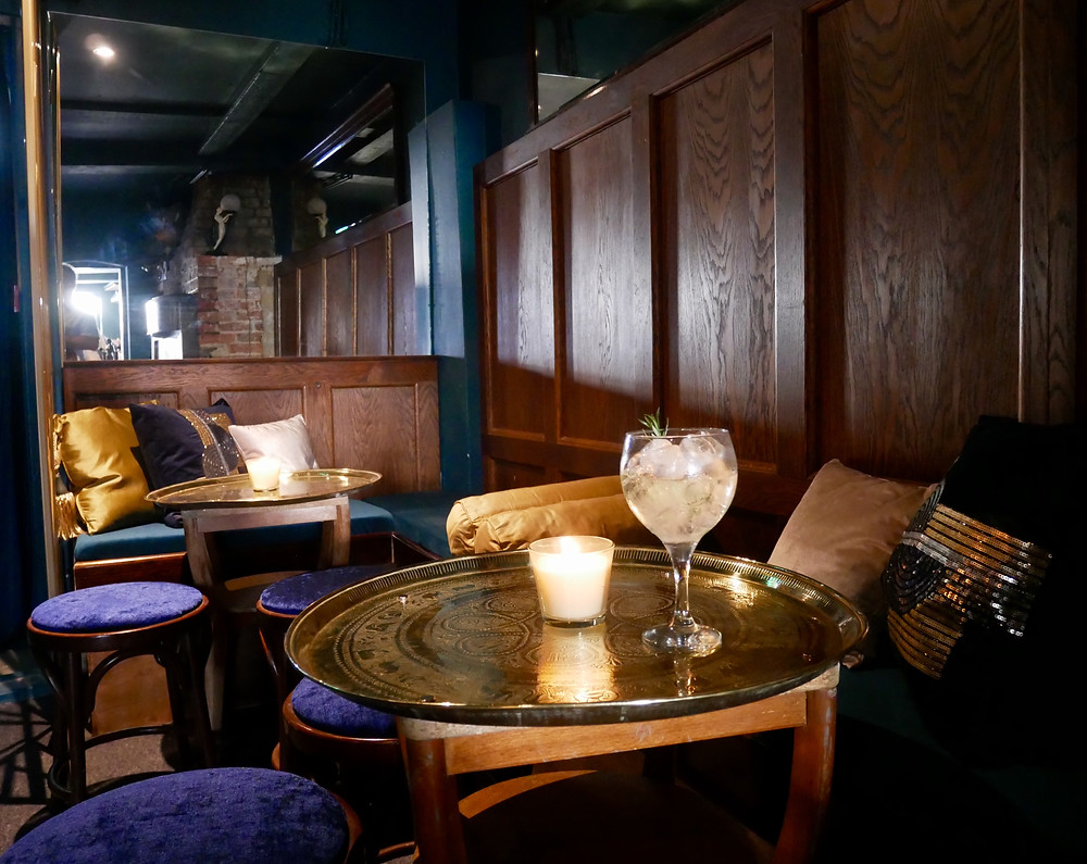 Cosy seating area - Gin House