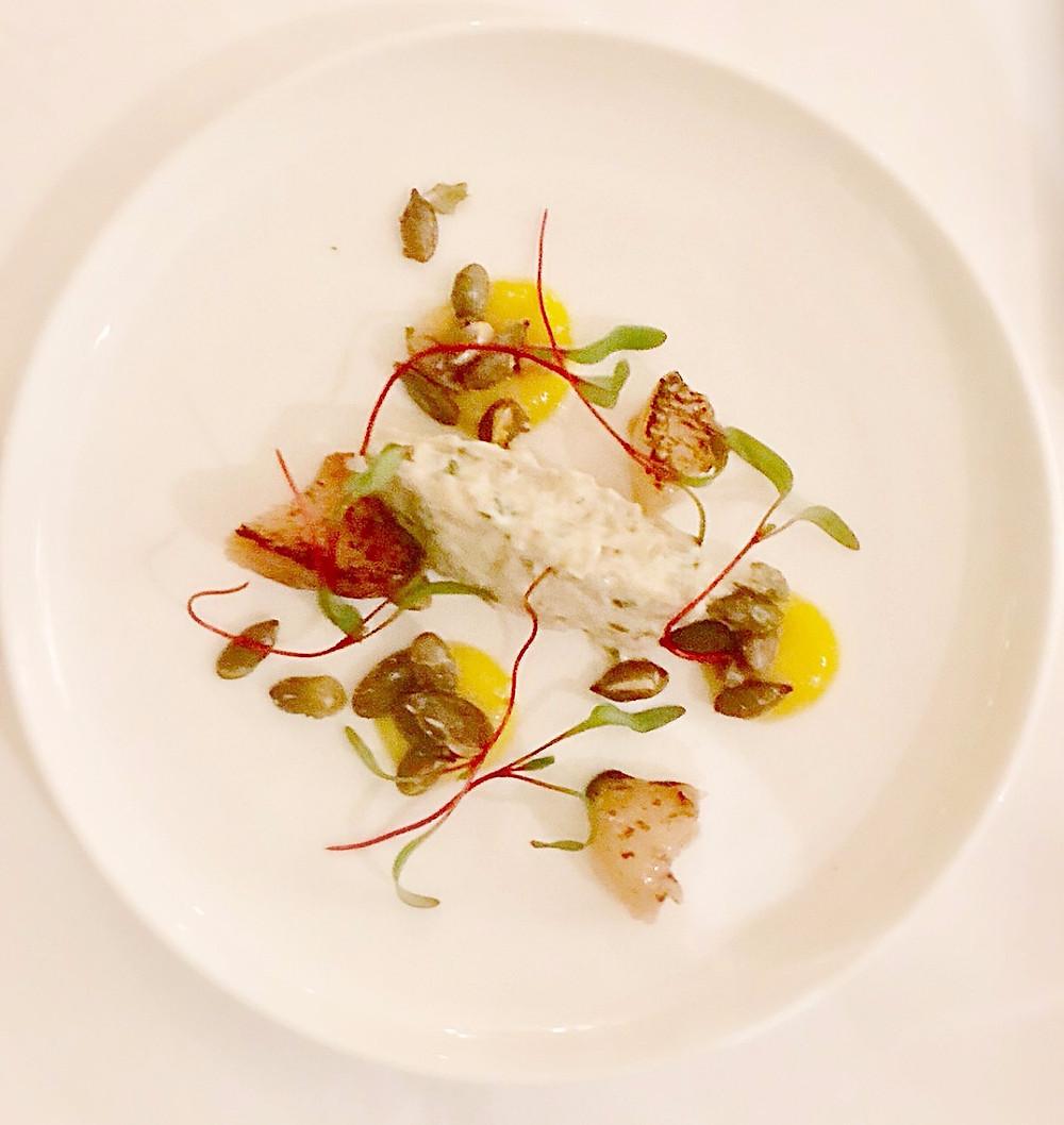 One of Matt Tompkinson's dishes