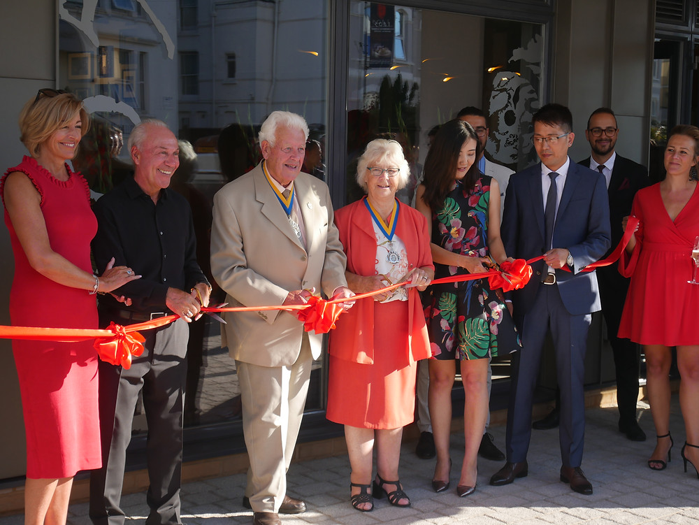 Official opening of 1805