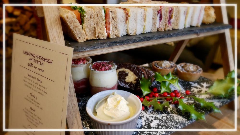 Festive afternoon tea - The Bell Inn