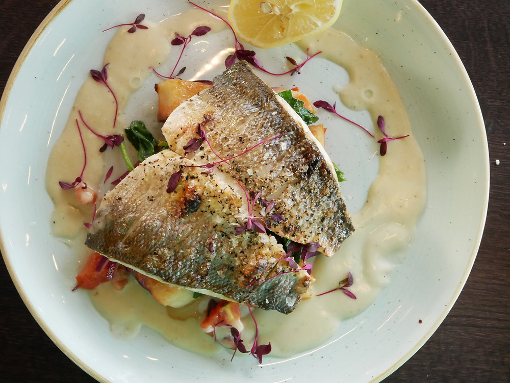 Riverside - Pan fried sea bass