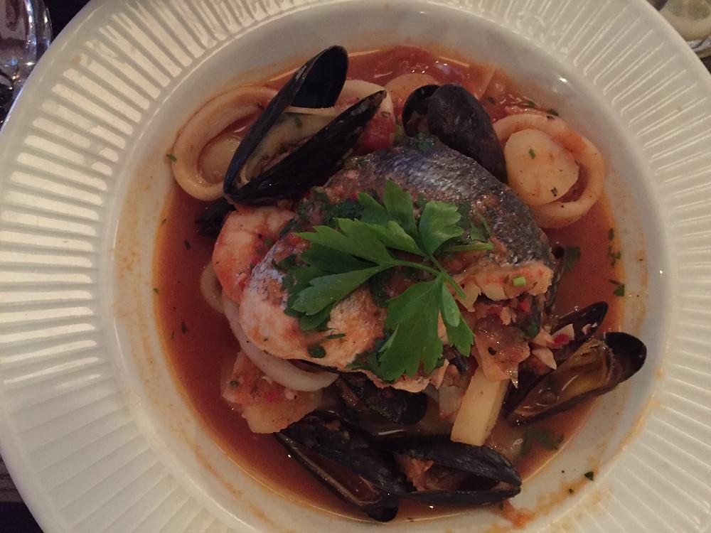 Cote Brasserie Breton Fish Stew