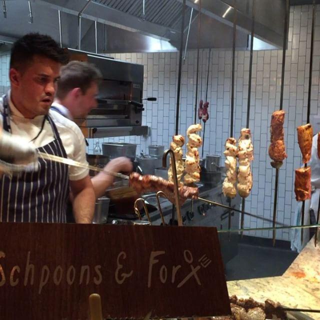 Tandoor oven in action @schpoonsandforx