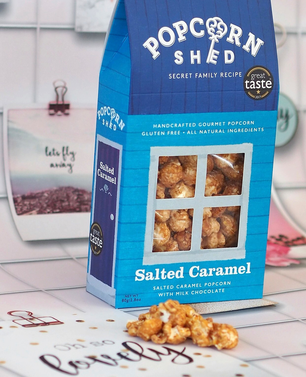 Popcorn Shed- Shed packaging