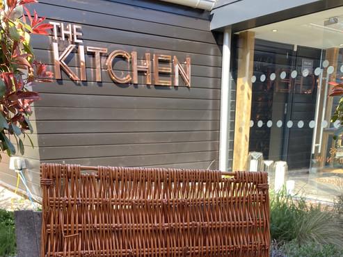 Alfresco dining at The Kitchen at Chewton Glen