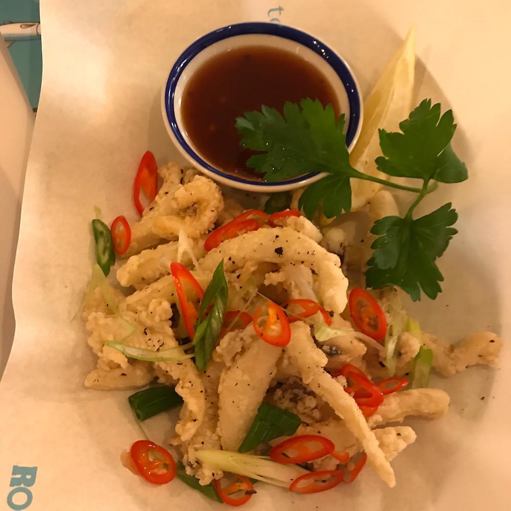 Crispy Salt and Pepper Squid