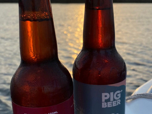 Pig Beer brewed in the New Forest