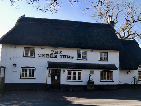 Lunch at The Three Tuns
