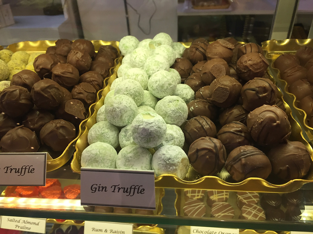 Chocolate selection - Christchurch confectioners